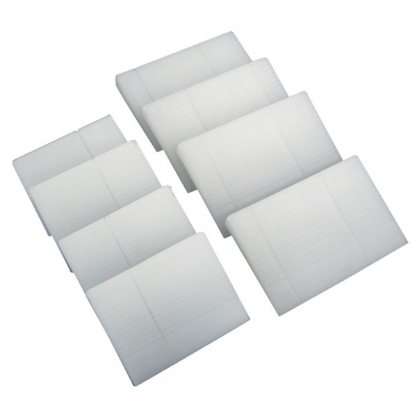 Stielbefestigungskeile PVC, 8 Stück