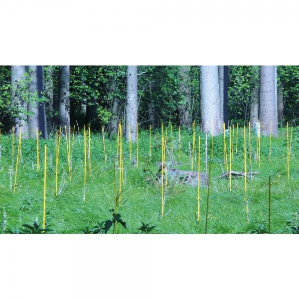 Markierstab Vinotto® Fiberglas 7 mm x 130 cm gelb