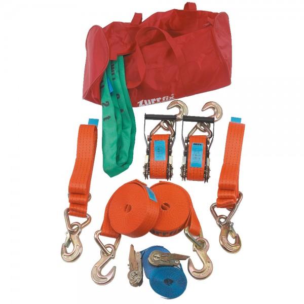 Zurr- und Hebesortiment inkl. praktischer Tasche