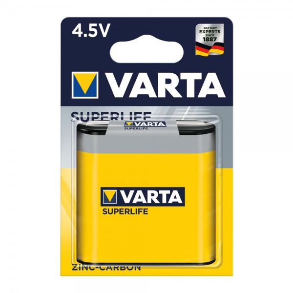 Superlife Zink-Kohle Batterien 4,5V