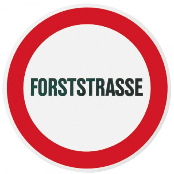 """Warntafel """"Forststraße"""""""
