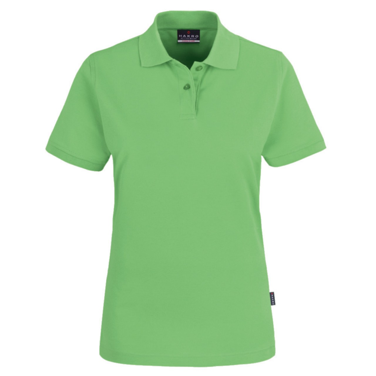 Damen Polo-Shirt Top apfel