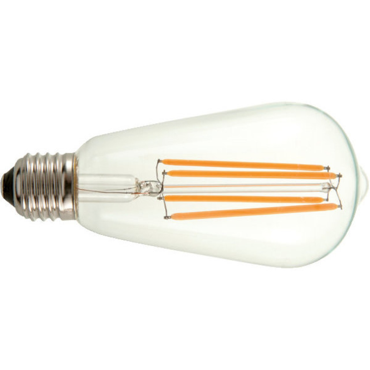 LED Glühfadenlampe Edison, klar