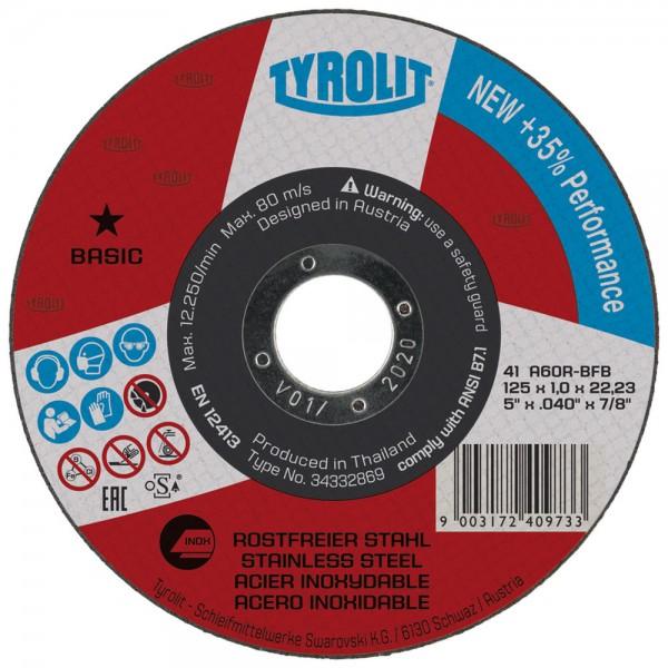 Trennscheiben-Box Tyrolit 125 Inox