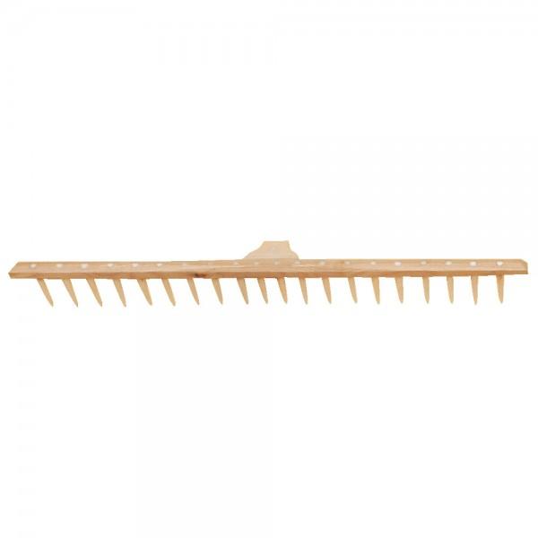 Holzrechen 20 Zähne (PVC)