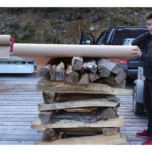 Walki® Holz-Abdeckung 1,5 x 50 Meter