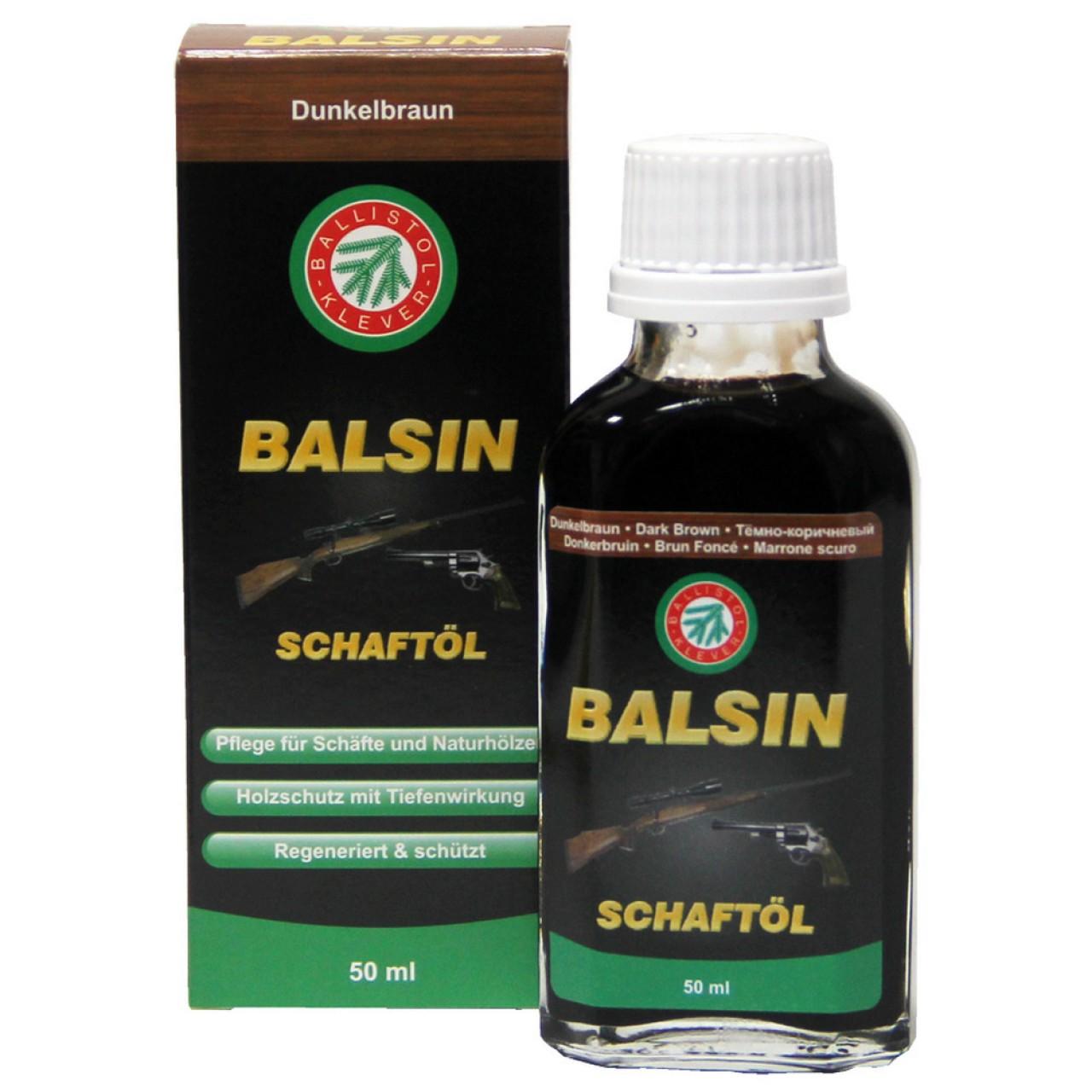 Ballistol Schaftöl dunkelbraun 50 ml