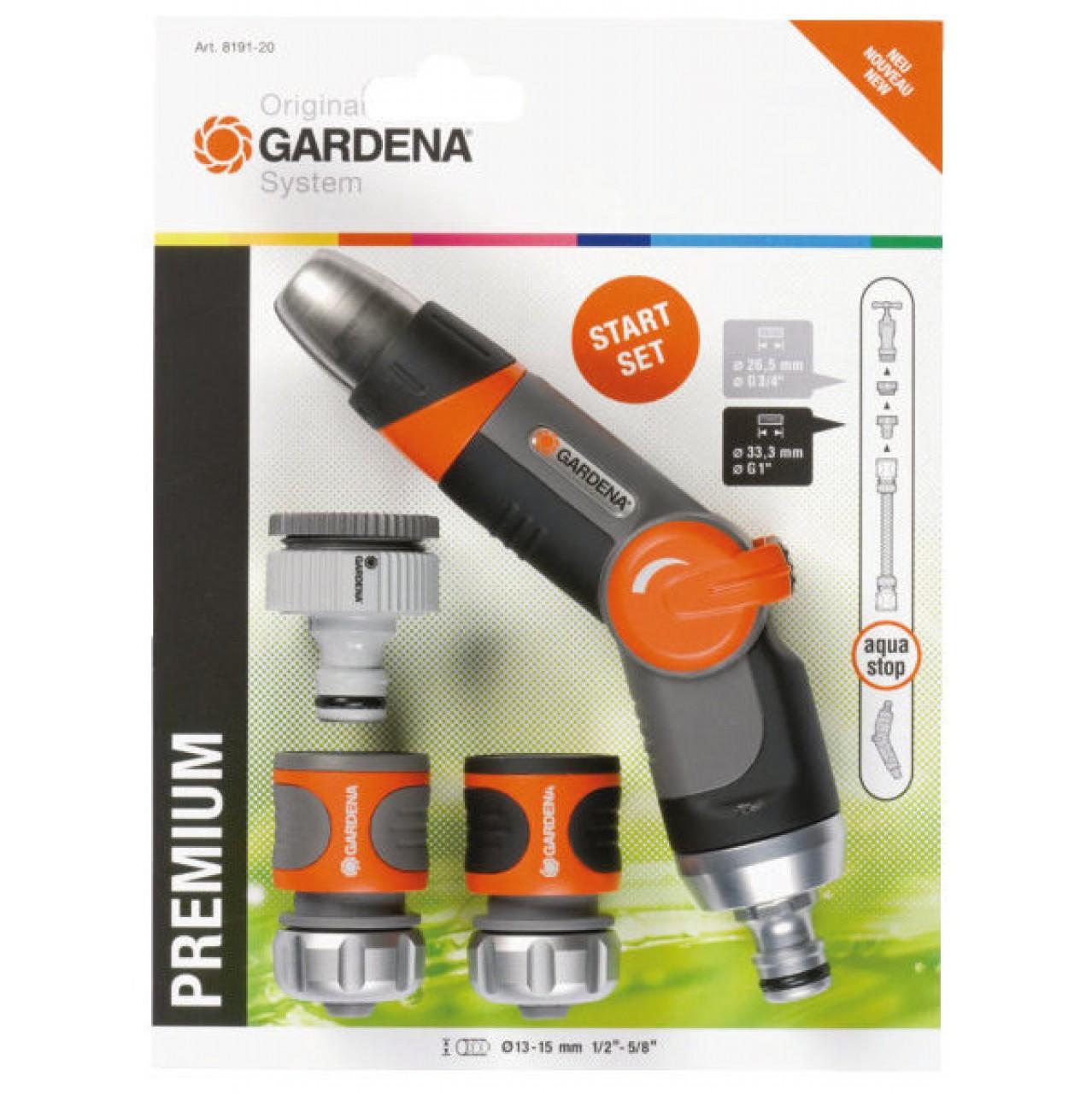Gardena Premium SB-System Grundausstattung