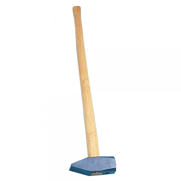 Steinschlägel (Vorschlaghammer) mit Stiel