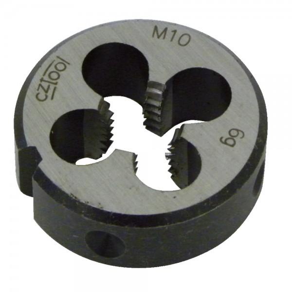 Schneideisen metrisches ISO-Gewinde, aus Werkzeugstahl