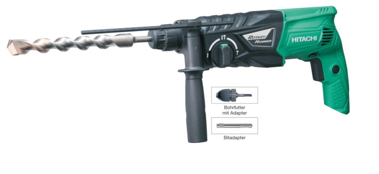 Bohrhammer Hitachi DH24 PH-Set