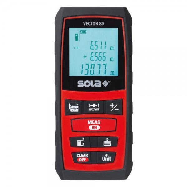 Laser Entfernungsmesser SOLA, Modell Vector 80
