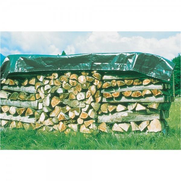 Holz-Abdeckplane Qualitätsplane von Windhager, UV-stabilisiert