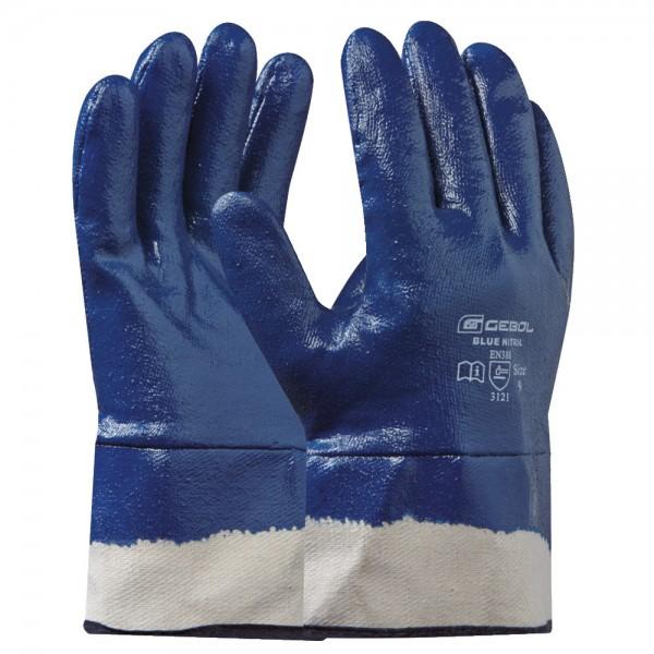 Handschuh Blue Nitril