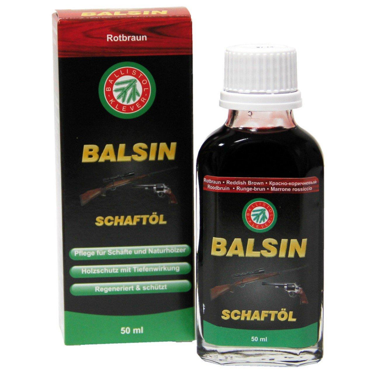 Ballistol Schaftöl rotbraun 50 ml