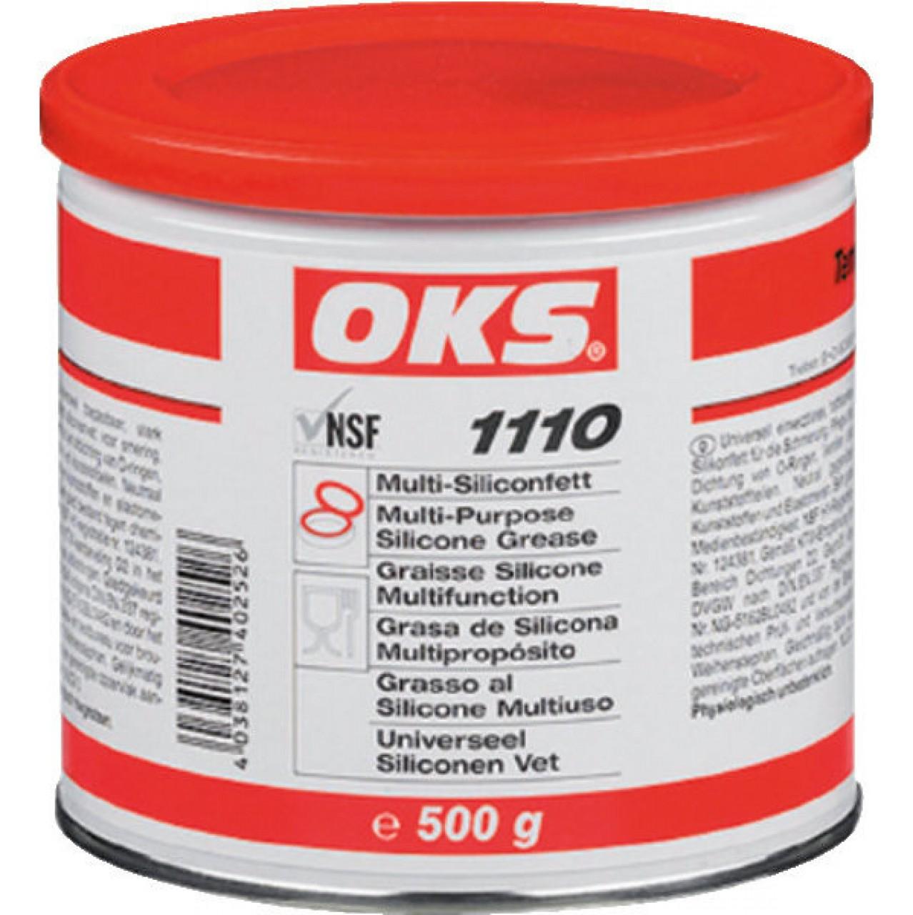 Silikonfett OKS 1110 500g Dose für die Lebensmitteltechnik
