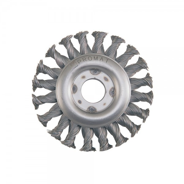 Rundbürste D. 125 mm Stahl 13 mm 12500 min-¹