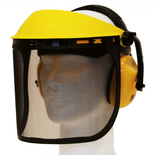 Gesichts-/Gehörschutzkombi
