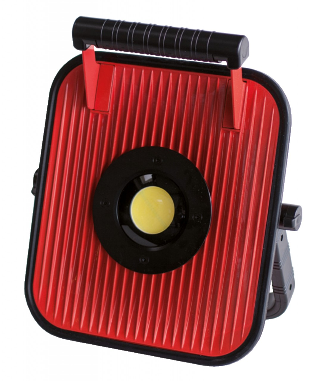 LED-Leuchte 50W mit Li-Ion Akku und Bluetooth Lautsprecher