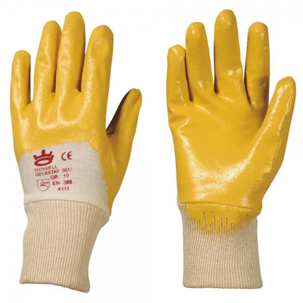 """Nitril-Handschuh """"Gelbstar"""""""