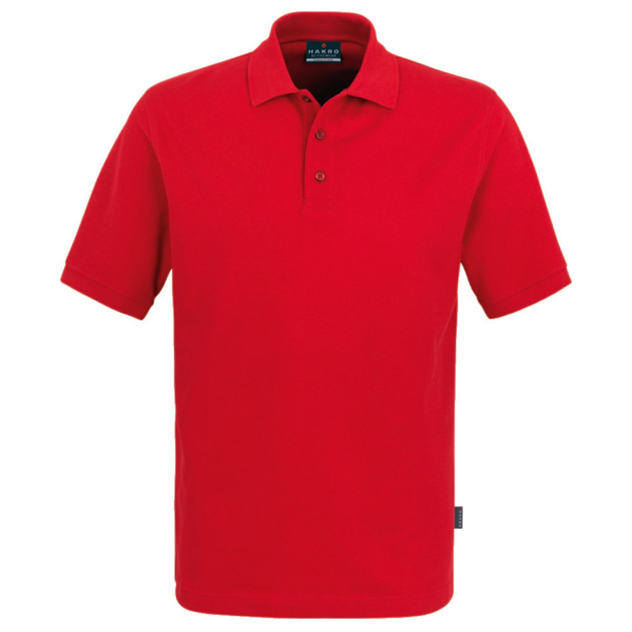Herren Polo-Shirt Top rot