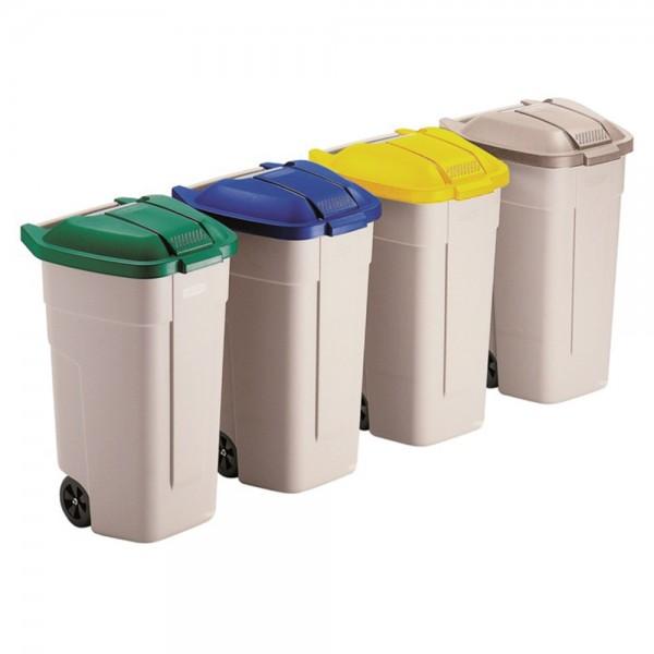 Abfall-/Wertstoffsammler 100l
