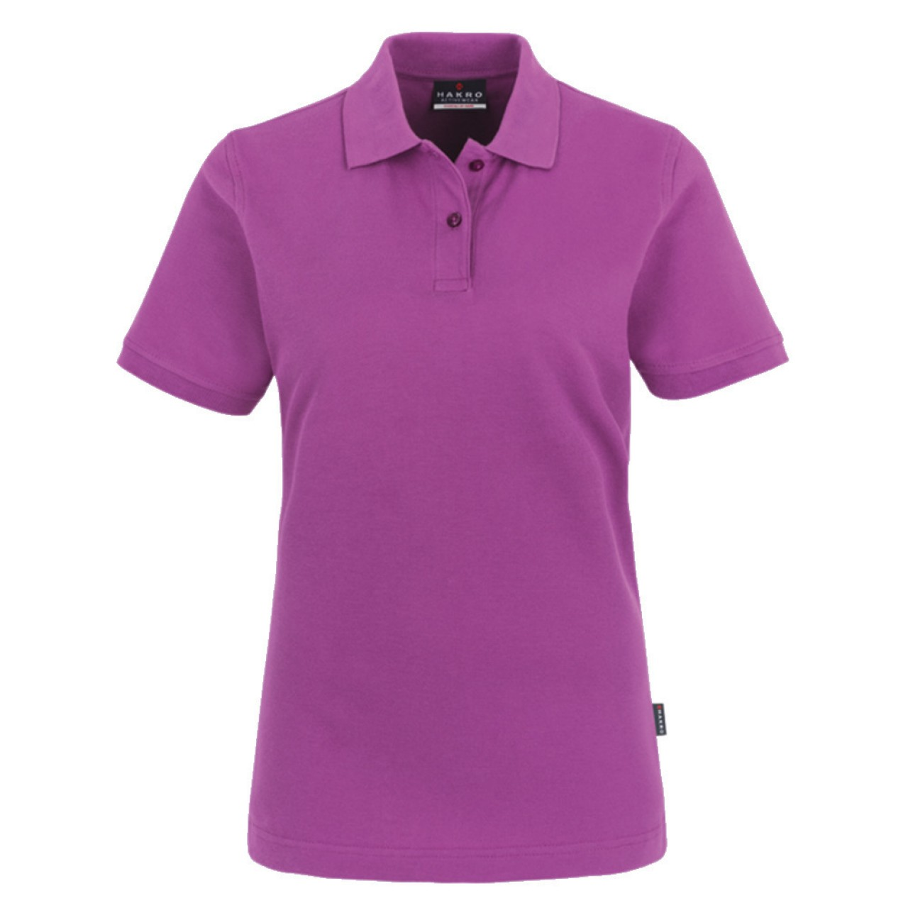 Damen Polo-Shirt Top purple