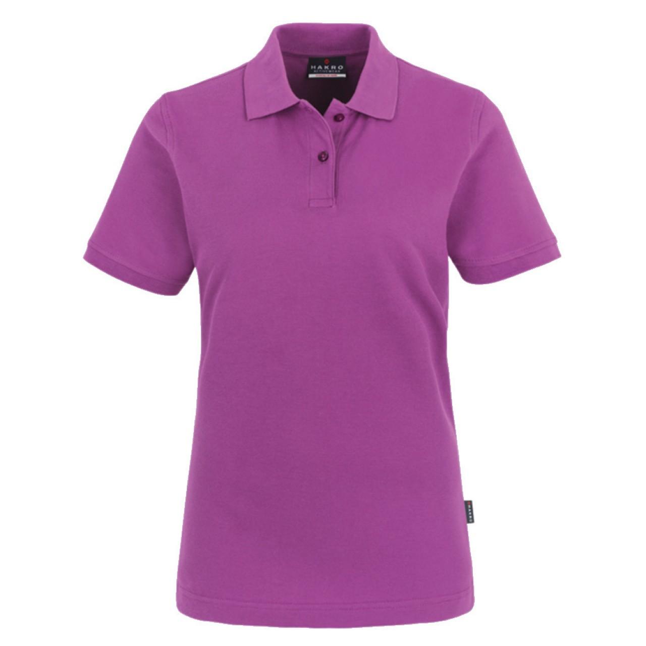 Damen Polo-Shirt Top purple
